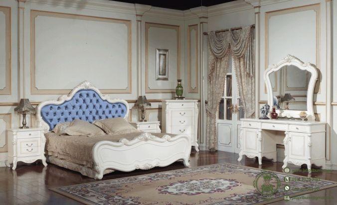 Kamar Set Mewah Luxury Model Terbaru Mebel Jepara (1)