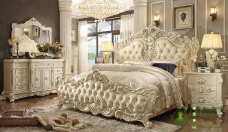 kamar set tempat tidur klasik ukiran jepara