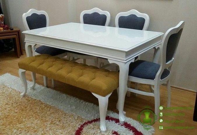 meja makan minimalis adelia