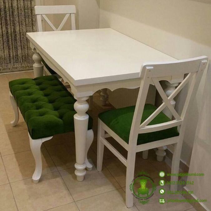 meja makan minimalis ruangan kecil