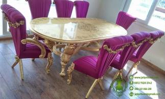 set-meja-makan-klasik-eropa-ukir-jepara-warna-emas-terbaru-kualitas-terbaik